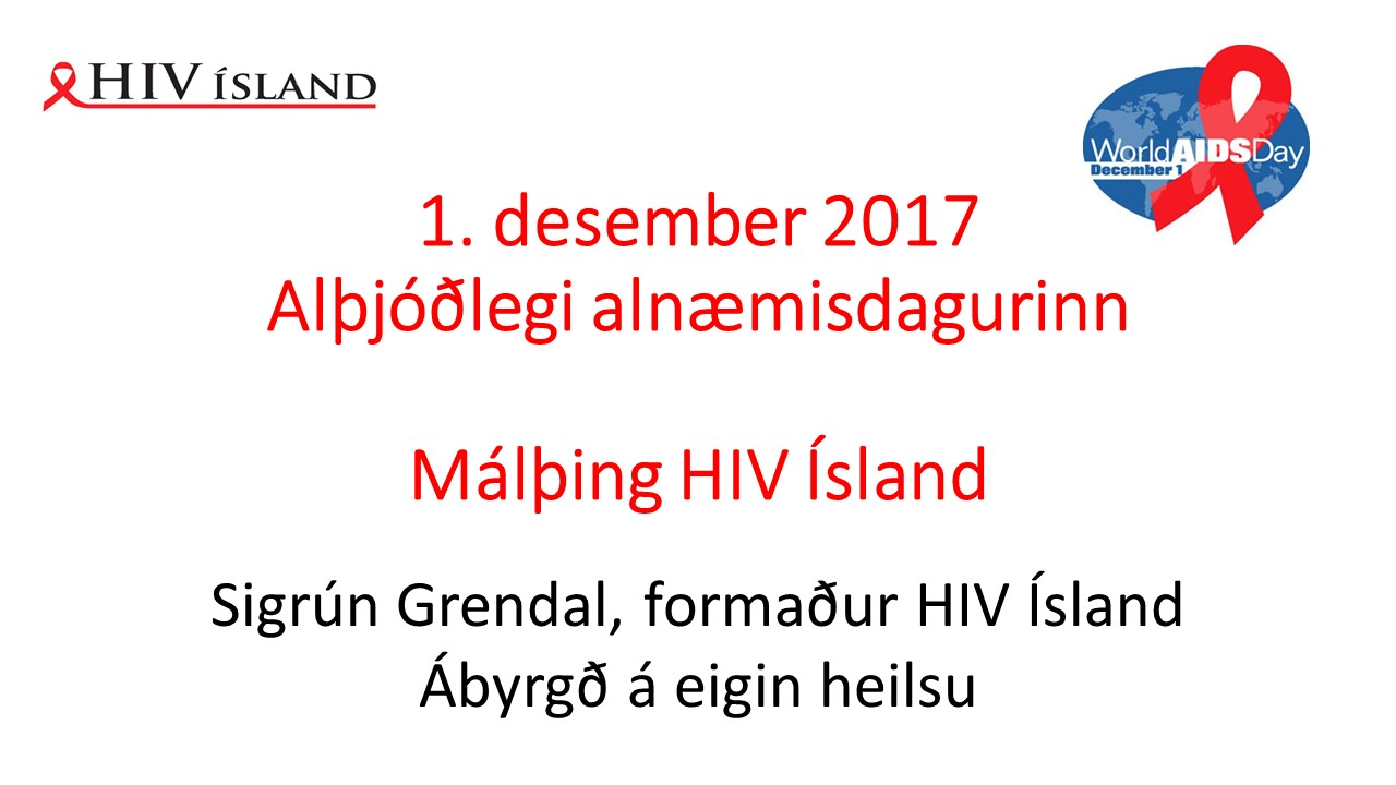 1. des. 2017. Ábyrgð á eigin heilsu