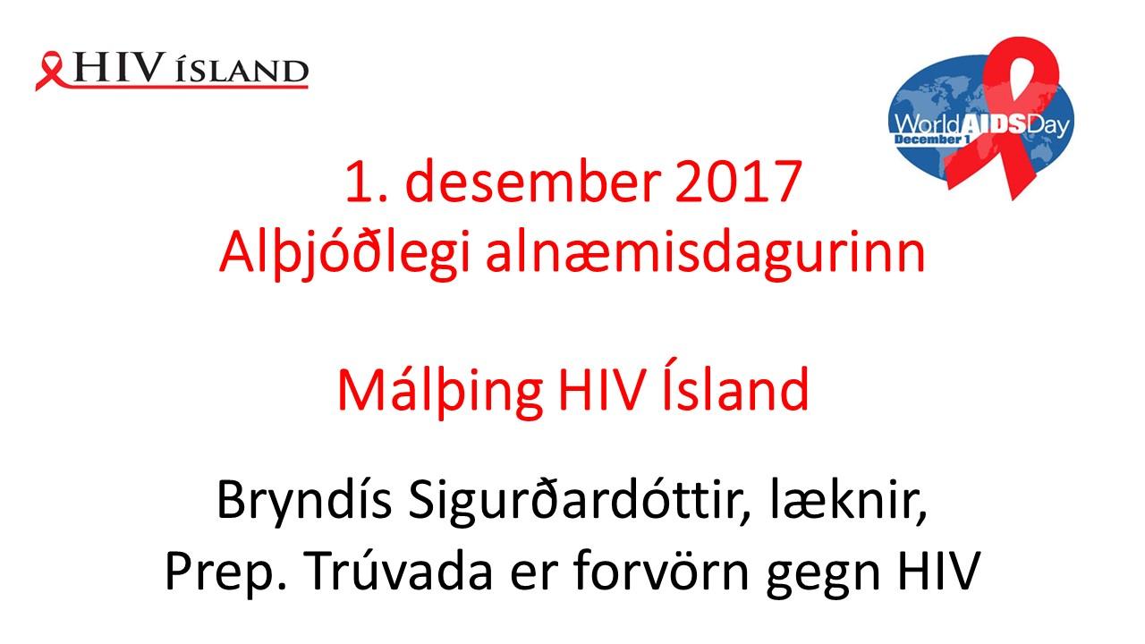 1. des. 2017. Prep. Trúvada er forvörn gegn HIV