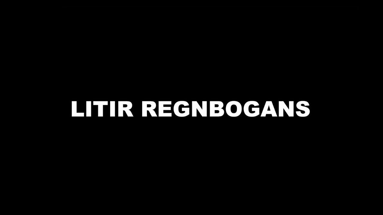 Litir regnbogans - Reykjavik Pride 2017