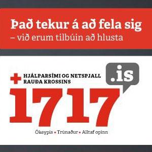 1717 Hjálparlína Rauða krossins